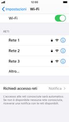 Apple iPhone SE - iOS 13 - WiFi - Configurazione WiFi - Fase 5