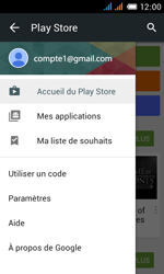 Alcatel One Touch Pop C3 - Applications - Comment vérifier les mises à jour des applications - Étape 5