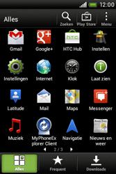 HTC A320e Desire C - internet - hoe te internetten - stap 2
