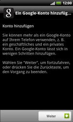 HTC Sensation XL - Apps - Konto anlegen und einrichten - 4 / 18