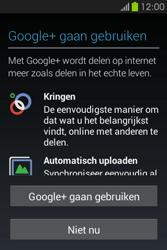 Samsung S6810P Galaxy Fame - apps - account instellen - stap 18