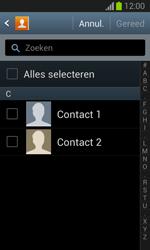 Samsung S7390 Galaxy Trend Lite - Contactgegevens overzetten - delen via Bluetooth - Stap 7