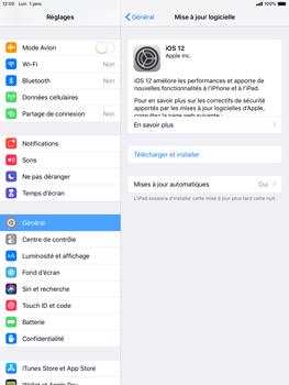 Apple iPad Mini 3 - iOS 12 - Appareil - Mises à jour - Étape 7