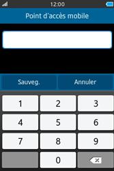 Samsung Wave M - Internet et connexion - Partager votre connexion en Wi-Fi - Étape 7