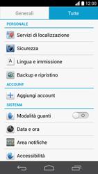 Huawei Ascend P6 - Dispositivo - Ripristino delle impostazioni originali - Fase 5