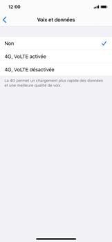 Apple iPhone XS - iOS 13 - Réseau - Activer 4G/LTE - Étape 6