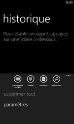 Nokia Lumia 625 - Sécuriser votre mobile - Personnaliser le code PIN de votre carte SIM - Étape 5
