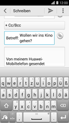 Huawei Ascend Y550 - E-Mail - E-Mail versenden - 9 / 16