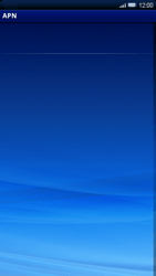 Sony Xperia X10 - Internet - Configuration manuelle - Étape 7