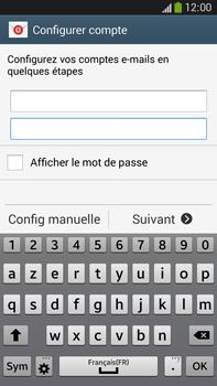 Samsung Galaxy Note 3 - E-mails - Ajouter ou modifier un compte e-mail - Étape 6