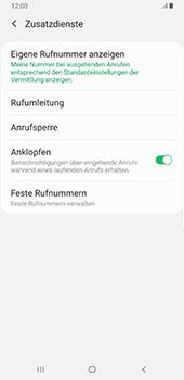 Samsung Galaxy S9 Plus - Anrufe - Rufumleitungen setzen und löschen - 7 / 13