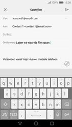 Huawei Huawei P9 Lite - E-mail - E-mails verzenden - Stap 9