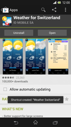 Sony Xperia Z - Applications - Installing applications - Step 17