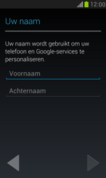 Samsung I8190 Galaxy S III Mini - Applicaties - Account aanmaken - Stap 5
