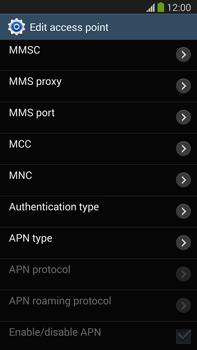 Samsung N9005 Galaxy Note III LTE - Internet - Manual configuration - Step 14