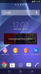 Sony D2303 Xperia M2 - E-mail - Bericht met attachment versturen - Stap 1
