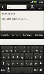HTC One SV - E-Mail - E-Mail versenden - 1 / 1