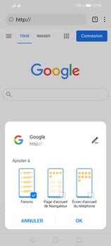 Huawei P Smart 2021 - Internet et connexion - Naviguer sur internet - Étape 9