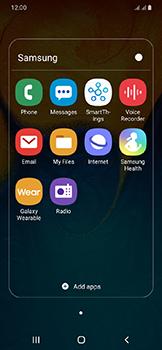 Samsung Galaxy A20e - E-mail - Manual configuration IMAP without SMTP verification - Step 5