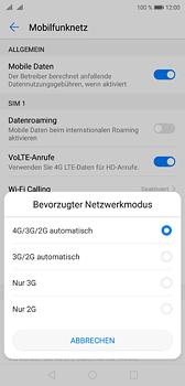 Huawei P20 - Netzwerk - Netzwerkeinstellungen ändern - Schritt 6