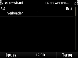 Nokia E6-00 - wifi - handmatig instellen - stap 17