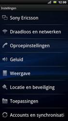 Sony Ericsson LT15i Xperia Arc - Bellen - in het buitenland - Stap 4
