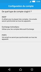Sony E2303 Xperia M4 Aqua - E-mail - Configuration manuelle - Étape 7