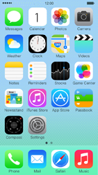 Apple iPhone 5c - MMS - Manual configuration - Step 1