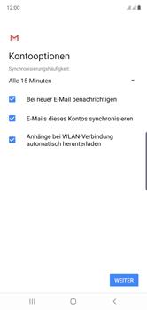 Samsung Galaxy Note 10 - E-Mail - 032b. Email wizard - Yahoo - Schritt 12