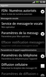 HTC A8181 Desire - Messagerie vocale - configuration manuelle - Étape 6