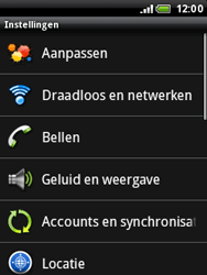 HTC A3333 Wildfire - Voicemail - Handmatig instellen - Stap 4