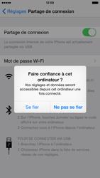 Apple iPhone 6 iOS 8 - Internet et connexion - Utiliser le mode modem par USB - Étape 8