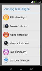 Sony Xperia E1 - MMS - Erstellen und senden - 17 / 21