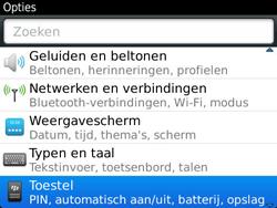 BlackBerry 9360 Curve - Instellingen - ontvangen via SMS - Stap 4