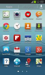 Samsung S7710 Galaxy Xcover 2 - E-mail - Sending emails - Step 3