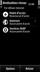 Nokia 500 - Internet - configuration manuelle - Étape 7