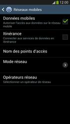 Samsung Galaxy S 4 Active - Internet et roaming de données - Comment vérifier que la connexion des données est activée - Étape 7