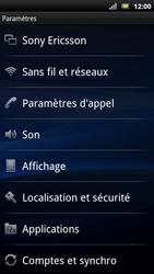 Sony Xperia Neo - Messagerie vocale - Configuration manuelle - Étape 4