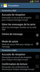 Samsung G386F Galaxy Core LTE - SMS - configuration manuelle - Étape 8
