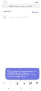 Samsung Galaxy Note20 - Internet et connexion - Naviguer sur internet - Étape 17