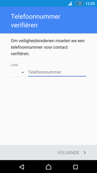 Sony Xperia M5 - Applicaties - Account aanmaken - Stap 7