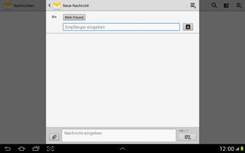 Samsung Galaxy Note 10-1 - MMS - Erstellen und senden - 11 / 21