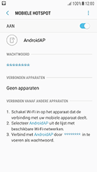 Samsung Galaxy A5 2016 (SM-A510F) - Android Nougat - WiFi - Mobiele hotspot instellen - Stap 12