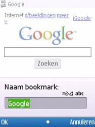 Nokia C5-00 - internet - hoe te internetten - stap 6