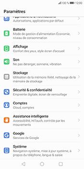 Huawei P Smart - Aller plus loin - Mettre à jour le logiciel interne de votre mobile - Étape 5