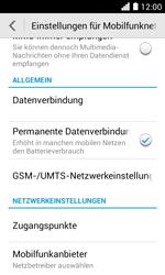 Huawei Ascend Y330 - Netzwerk - Netzwerkeinstellungen ändern - 1 / 1