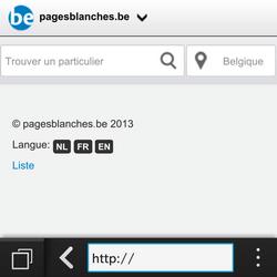BlackBerry Q5 - Internet - navigation sur Internet - Étape 11
