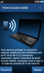Samsung Wave 2 - Internet et connexion - Partager votre connexion en Wi-Fi - Étape 6