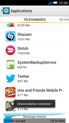 Alcatel One Touch Idol Mini - Applications - Comment désinstaller une application - Étape 8