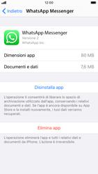 Apple iPhone SE (2020) - Applicazioni - Come disinstallare un